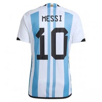 ba3f3f97 Fotballdrakter Argentina VM 2018 Lionel Messi 10 Hjemmedrakt