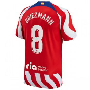 2fed0ef8 La Liga Fotballdrakter Atletico Madrid 2018-19 Antoine Griezmann 7 Hjemme  Draktsett