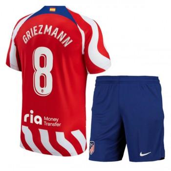 Atletico Madrid Barn Fotballdrakter 2018-19 Antoine Griezmann 7 Hjemmedrakt