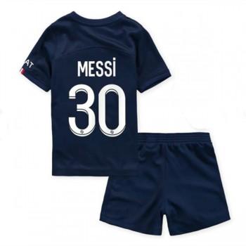 Barcelona Barn Fotballdrakter 2018-19 Lionel Messi 10 Hjemmedrakt