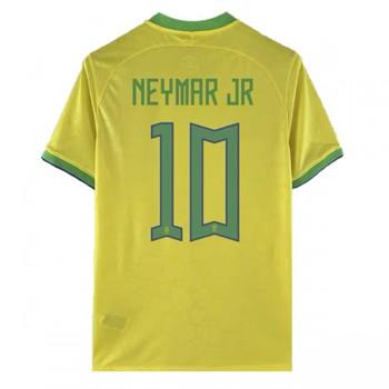 Fotballdrakter Brasil VM 2018 Neymar JR 10 Hjemmedrakt