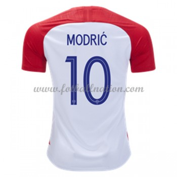 Fotballdrakter Kroatia VM 2018 Luka Modric 10 Hjemmedrakt