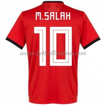 Fotballdrakter Egypt VM 2018 Mohamed Salah 14 Hjemmedrakt