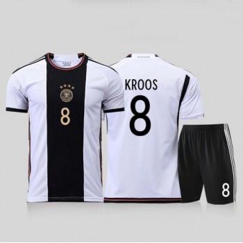 Tyskland Barn Landslagsdrakter 2018 Toni Kroos 8 Hjemmedrakt