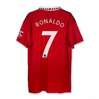 Serie A Fotballdrakter Juventus 2018-19 Cristiano Ronaldo 7 Hjemme Draktsett