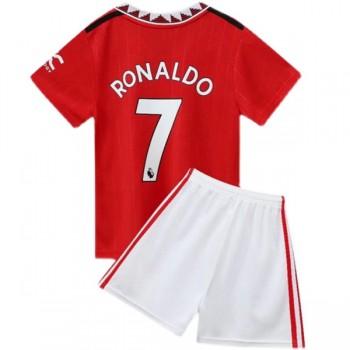 Juventus Barn Fotballdrakter 2018-19 Cristiano Ronaldo 7 Hjemmedrakt