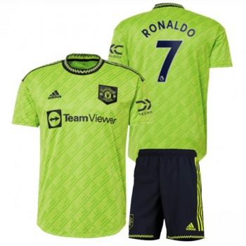 Juventus Barn Fotballdrakter 2018-19 Cristiano Ronaldo 7 Tredjedrakt