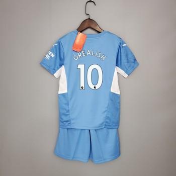 f37ec6b3 Sergio Aguero drakt barn, Manchester City fotballdrakter med navn 2018