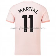 Premier League Fotballdrakter Manchester United 2018-19 Anthony Martial 11 Borte Draktsett..