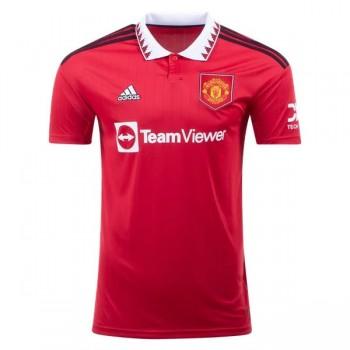 Premier League Fotballdrakter Manchester United 2018-19 Hjemme Draktsett