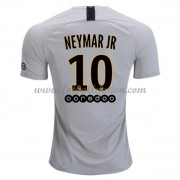 Ligue 1 Fotballdrakter Paris Saint Germain PSG 2018-19 Neymar Jr 10 Borte Draktsett..