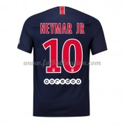 Ligue 1 Fotballdrakter Paris Saint Germain PSG 2018-19 Neymar Jr 10 Hjemme Draktsett..