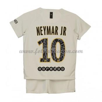 Paris Saint Germain PSG Barn Fotballdrakter 2018-19 Neymar Jr 10 Bortedrakt