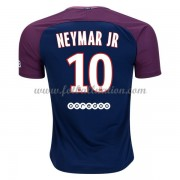 Ligue 1 Fotballdrakter Paris Saint Germain Psg 2017-18 Neymar Jr 10 Hjemme Draktsett..
