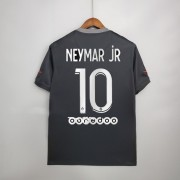 Ligue 1 Fotballdrakter Paris Saint Germain Psg 2017-18 Neymar Jr 10 Tredje Draktsett..