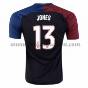 Billige Landslagsdrakter USA 2016 Jermaine Jones 13 Bortedrakt..